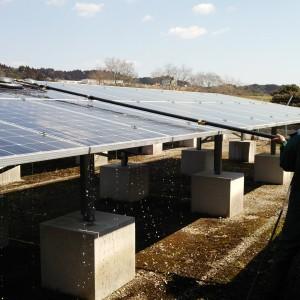 太陽光パネル洗浄