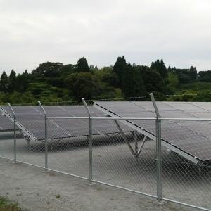 太陽光発電設備施工事例(遊休地活用)