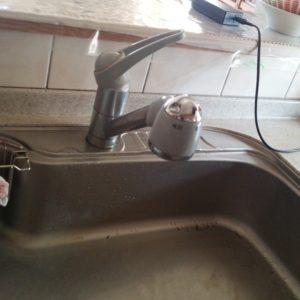 浄水水栓リフォーム工事