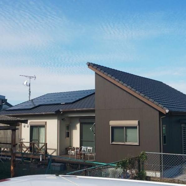 住宅用太陽光発電システムの画像